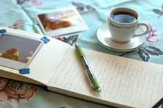 take to ca: small journal, pen, washi tape, and instax camera.  by madelyn * persisting stars, via Flickr
