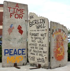 Pieces of the Berlin Wall in Berlin, Germany - AutoVenture #travel