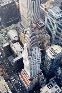 The Chrysler tower in #newyork