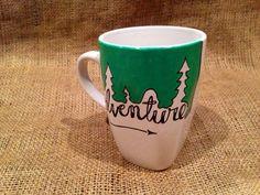 Adventure Coffee Mug Not All that Wander Are от SeedsOfFaithMom