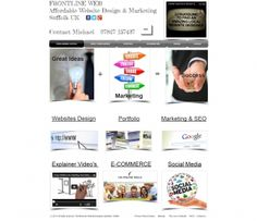 After working for various websites companies I decided to go freelance, I wanted to offer a more affordable low cost & more personal website design experience for the customer.        Here at Frontlineweb we are able to do this, we look at your business and work with you to achieve your aims.    We offer a complete service from website design to marketing &optimizationof your site to achieve maximum visitors to your site.        Take a look at our pricing page where you will see different packages to suit your needs all at affordable prices.    We do not just build you a website and leave you to get on with it we show you ways to get more visits to your site.        We also buildFacebook/Twitter pages to compliment your site as Social Media is a must have Marketing Strategy for any Website.    We also market your website Geographically if you require.        We are also here at weekends when most Website designers offices would be closed.