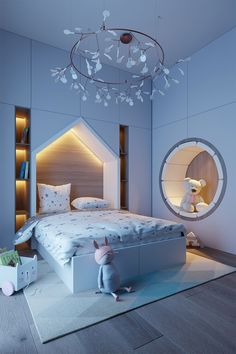 Modern Kids Bedroom, Modern Luxury Bedroom, Luxurious Bedrooms, Bedroom Closet Design, Master Bedroom Design, Bedroom Decor, Dorm Room Designs, Kids Room Design, Home Design Plans