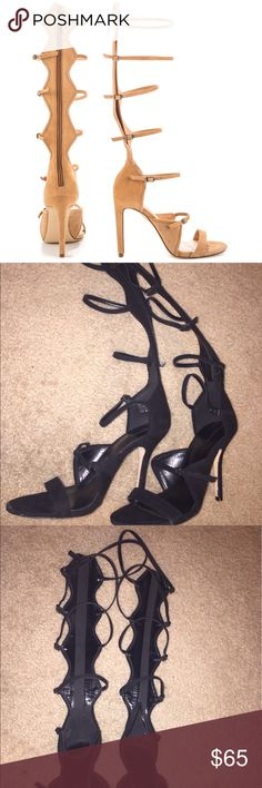 📌NEW Aldo Cirella Black Strappy High Heel Sandals You wont find it anywhere else.  Get these sexy sandals and complete your look.  These will make you look extra sexy on our night out.  You can even wear them casually.  Either way you'll get 'em eyes on you. Aldo Shoes Sandals