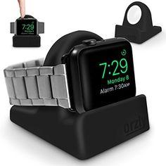"""Quando togli l'Apple watch non sai dove metterlo? Con questa fantastica base lo trasformi in un """"orologio-supertecnologico"""" da scrivania e, inserendo il caricabatterie originale, puoi metterlo in carica."""