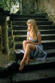 Brigitte Bardot, 1956 par Mark Shaw #histoire