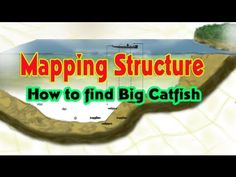 How to find BIG catfish: Mapping structure Good Catfish Bait, Big Catfish, Catfish Fishing, Fishing Rigs, Fishing Knots, Gone Fishing, Saltwater Fishing, Kayak Fishing, Fishing Stuff