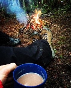 What's your favorite beverage to bring while camping?  Weekend goals brought to you by #liveyourquest community member @fester76 #aqwaterproof #IsItFridayYet #camping