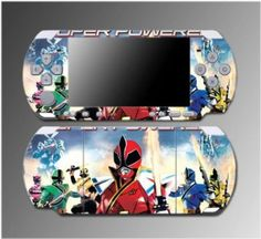 Power Rangers MMPR Super Samurai Video Game Vinyl Decal Sticker Cover Skin Protector #5 for Sony PSP Slim 3000 3001 3002 3003 3004 Playstation Portable  $8.10 Save 20% Amazing Discounts Your #1 Source for Video Games, Consoles & Accessories! Multicitygames.com Click On Pins For More Info