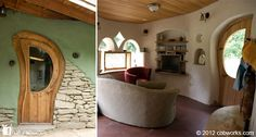 Kate's Cob House by Cob Works, Canada