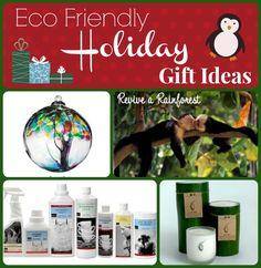 Eco Friendly Holiday Gift Ideas!