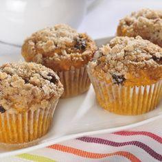 Muffins de Calabaza Cubiertos de Migajas   Recetas de Nestlé   ElMejorNido.com