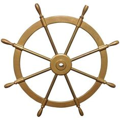 Solid Brass Boats Steering Wheel ($349) ❤ liked on Polyvore featuring home, home decor, decorative objects and brass home decor