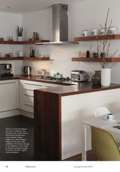 Page 28 of MidCentury - Spring / Summer 2012. Floating shelves