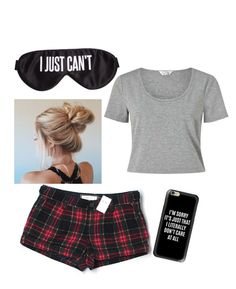 """""""Sleep!"""" by chaymaagrzesik on Polyvore featuring Perpetual Shade, Abercrombie & Fitch, Miss Selfridge and Casetify"""