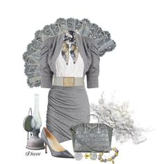 Grey Mood, created by diane-shelton on Polyvore