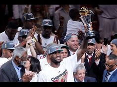 Miami Heat win the 2011/2012 NBA Championship. This is Heat's 2nd and LeBron's 1st.