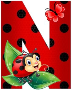 Ladybug Art, Ladybug Crafts, Alphabet, Lady Bug, Art Projects, Projects To Try, Arctic Animals, School Frame, Painting For Kids