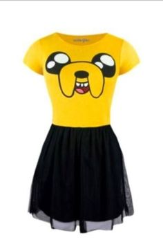 Cute jake the dog dress :)