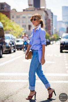 After Derek Lam Street Style Street Fashion Streetsnaps by STYLEDUMONDE Street Style Fashion Photography