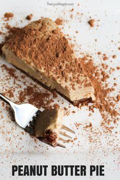 Peanut Butter Pie — The Local Vegan