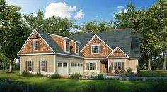 Plan 36052DK: Outstanding Craftsman House Plan