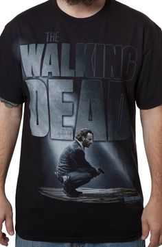 Rick Walking Dead T-Shirt: TV Shows The Walking Dead T-shirt