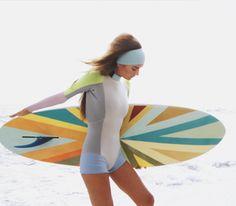 surfer CHIC. Cynthia Rowley & Roxy collab!
