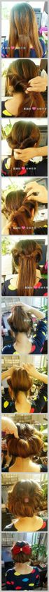 Wedding hairstyle  |Pinned from PinTo for iPad|