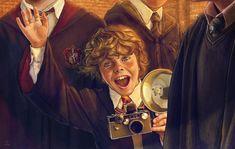 Hogwarts, Slytherin Harry Potter, Harry Potter Tumblr, Harry Potter Facts, Harry Potter Fan Art, Harry Potter Characters, Harry Potter World, Ravenclaw, Harry Potter Illustrations