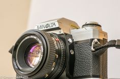 A review of a classic 35mm film camera - the Minolta X-300 fitted with the Minolta 50mm f/1.7 lens.