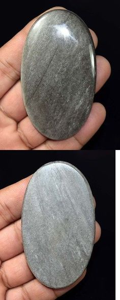 Obsidian 110803: Healing King 139.90 Cts. 100 % Natural Huge Silver Obsidian Loose Gemstones -> BUY IT NOW ONLY: $42 on eBay!