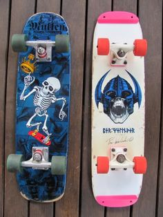 Rodney Mullen and per winder Old School Skateboards, Vintage Skateboards, Skateboard Deck Art, Skateboard Design, Rodney Mullen, Skate Photos, Skate Wheels, Complete Skateboards, Skate Art