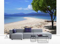 small living room ocean wall decals design ideas tiny homes