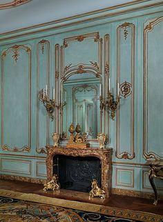 boiserie walls | Boiserie from the Palais Paar, 30 Wollzeile, Vienna, Austria Wall ...
