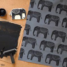 Printing on Textiles by Andrea Lauren www.myorganicslee...