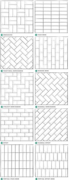 Subway Tile Designs Inspiration - A Beautiful Mess It's. Subway Tile Designs Inspiration – A Beautiful Mess It's no secret that Neutral Bathroom Tile, White Subway Tile Bathroom, Subway Tile Backsplash, White Tiles, Backsplash Ideas, Concrete Bathroom, White Bathrooms, Luxury Bathrooms, Master Bathrooms