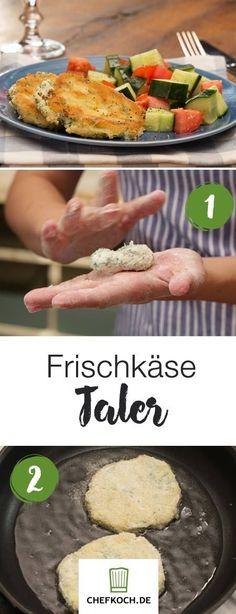 Frischkäse-Taler