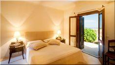 mediterrán hálószoba - Luxuslakások, ház