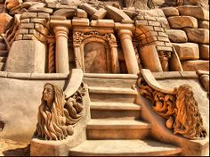Sand Sculpture Festival in Algarve (Fiesa)