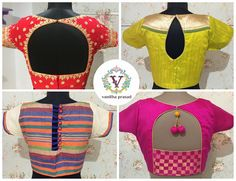 Designer blouse and Sarees are always in trend if you wear it in style. 10 February 2017