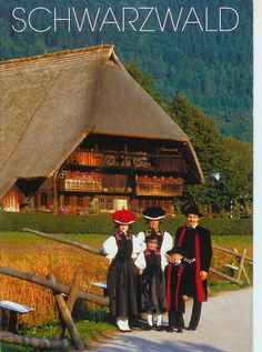 I remember having dolls in these traditional Black Forest costumes. Places To Travel, Places To See, Travel Destinations, Austria, Beautiful World, Beautiful Places, Black Forest Germany, Central Europe, Travel Memories