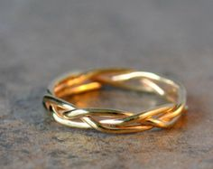 gold wedding bands for women images on hand - Google Search