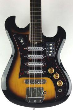 Marquis Electric Guitar 1960s Sunburst