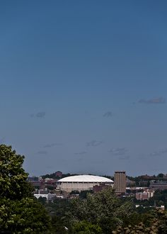 The Carrier Dome by AllenOblivious, via Flickr