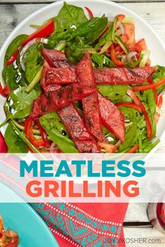 Summer is here and it's time for grilling, but you don't always have to grill meat. While grilled burgers, hot dogs, steak, and chicken are delicious and very popular, you can also grill fish, fruits, vegetables, and even desserts! Here are some non-meat grilling recipes for you to try at your next barbecue.