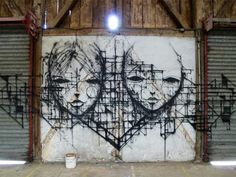 The Street Art and Drawings of IEMZA