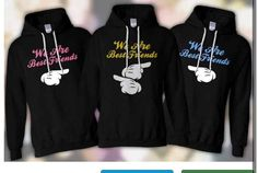 Best friend shirts    Neverseenonelikethat on ebay @Niki Kinney Smith (Kennedy) @Kirstin Nielsen cordy