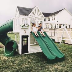 5 Amazing Playhouse / Playset Makeovers! - Chris Loves Julia
