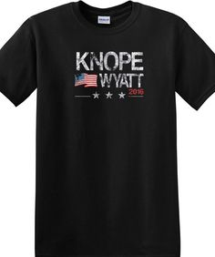 Knope Wyatt Parks And Recreation  Clinton Bernie Trump Parody Tee T Shirt
