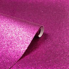 A vibrant sequin sparkle metallic glitter wallpaper in hot pink from the Arthouse Sequin Sparkle Wallpaper Collection. Available at Go Wallpaper UK. Sparkle Wallpaper, Wallpaper Uk, Wallpaper Paste, Textured Wallpaper, Sparkles Glitter, Pink Sequin, Glitz And Glam, My New Room